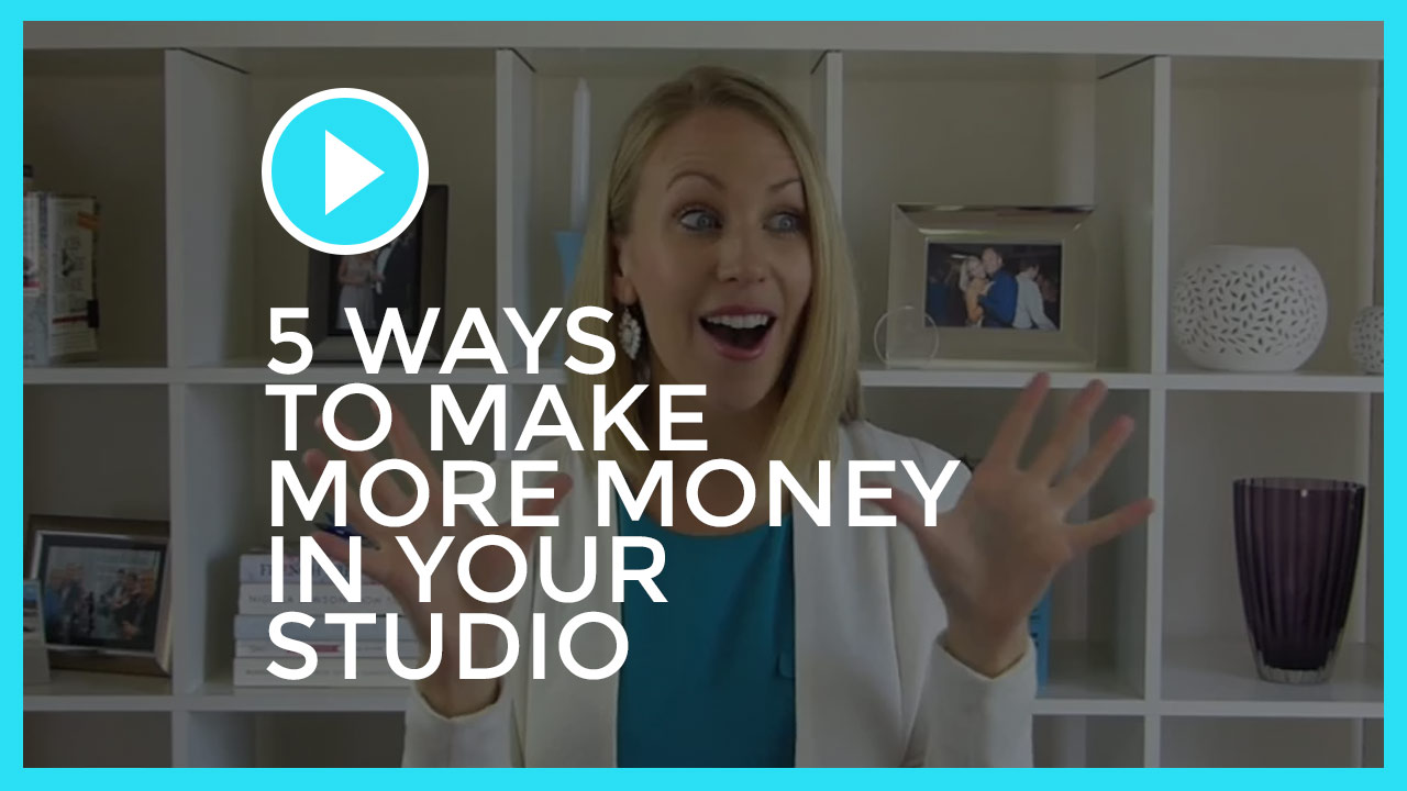 5 Ways to Make More Money in Your Studio