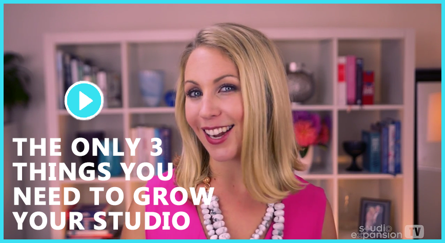 The ONLY 3 Things You Need To Grow Your Studio