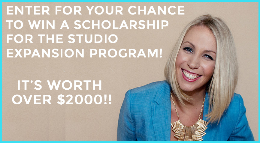 WIN A STUDIO EXPANSION PROGRAM SCHOLARSHIP WORTH $2000