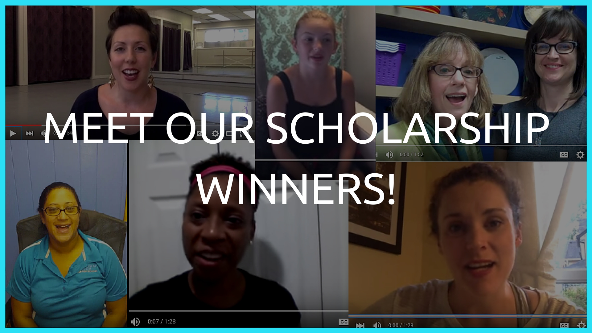 Meet Our Scholarship Winners!