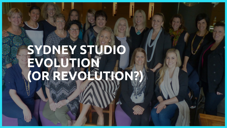 A Sydney Studio Evolution (…or REVOLUTION?!?)