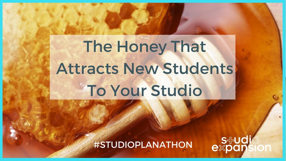 The Honey That Attracts New Students To Your Studio