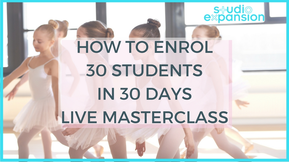 How to Enrol 30 Students in 30 Days