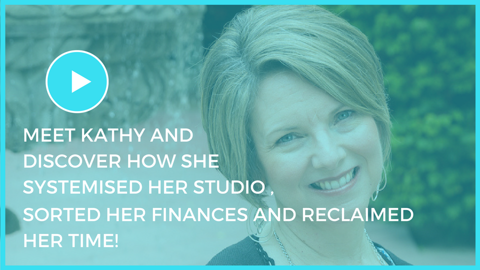 SUPER STAR STUDIO OWNER: Meet Kathy and discover how she built her Studio Dream Team!