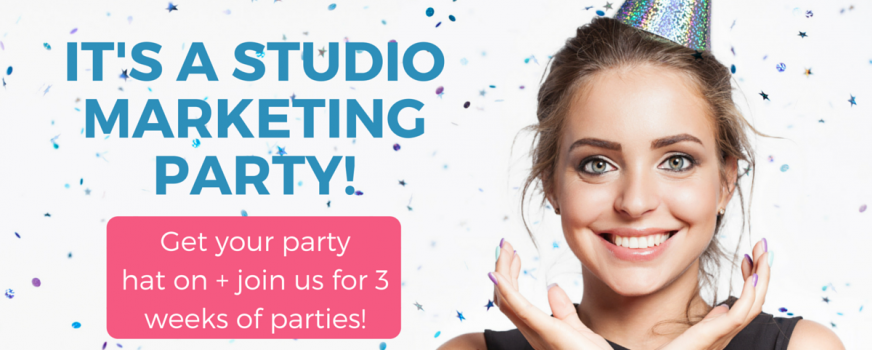 It's a Studio Marketing Party!