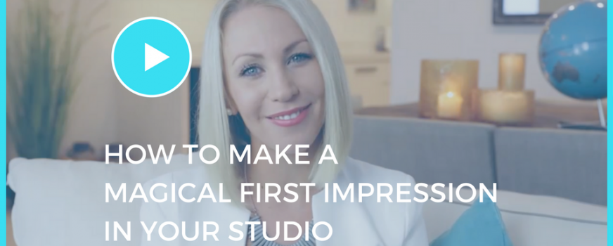 How To Make A Magical First Impression In Your Studio