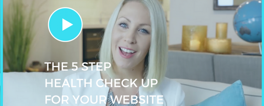 The 5 Step Health Check-Up For Your Studio Website