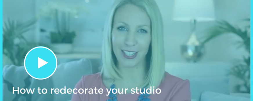 How to redecorate your studio