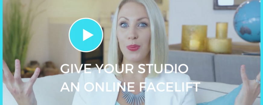 Give Your Studio An Online Facelift